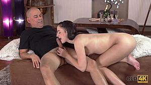 Starý muž a Mladé Teen sex videá